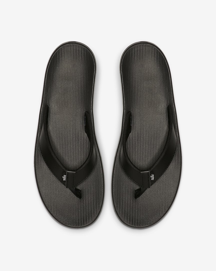 Nike Bella Kai Women\'s Thong Black/White/Metallic Silver