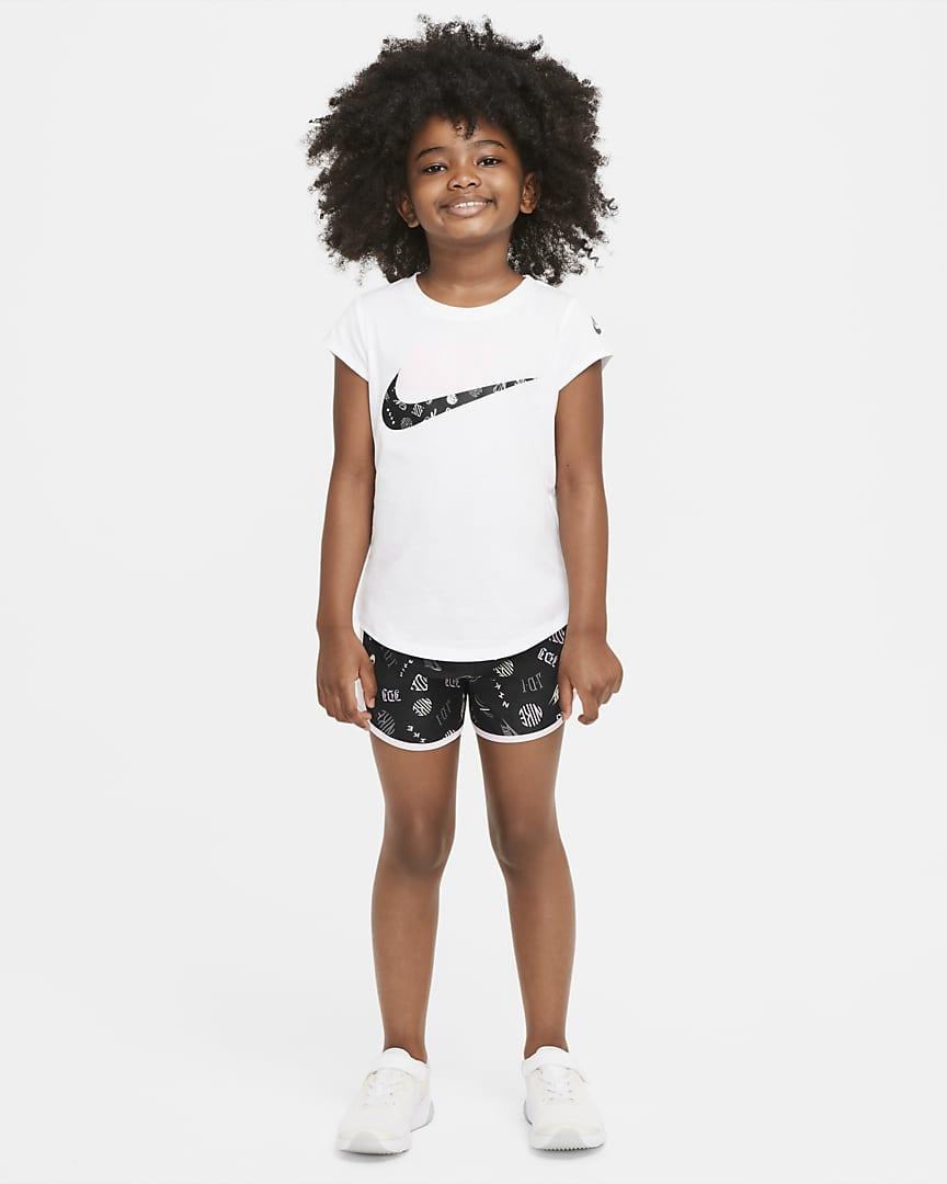 Nike Dri-FIT Tempo Little Kids\' Shorts Black
