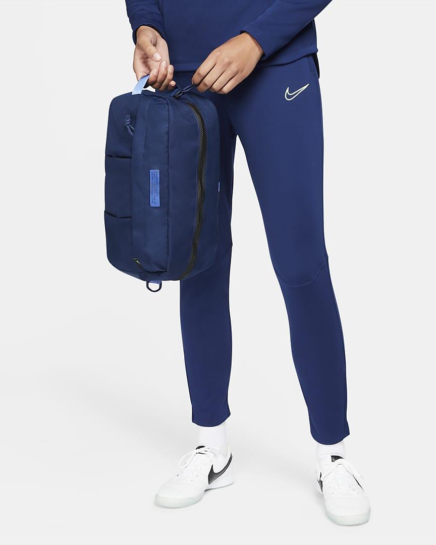 Nike Academy Soccer Shoe Bag Blue Void/Sapphire/Volt