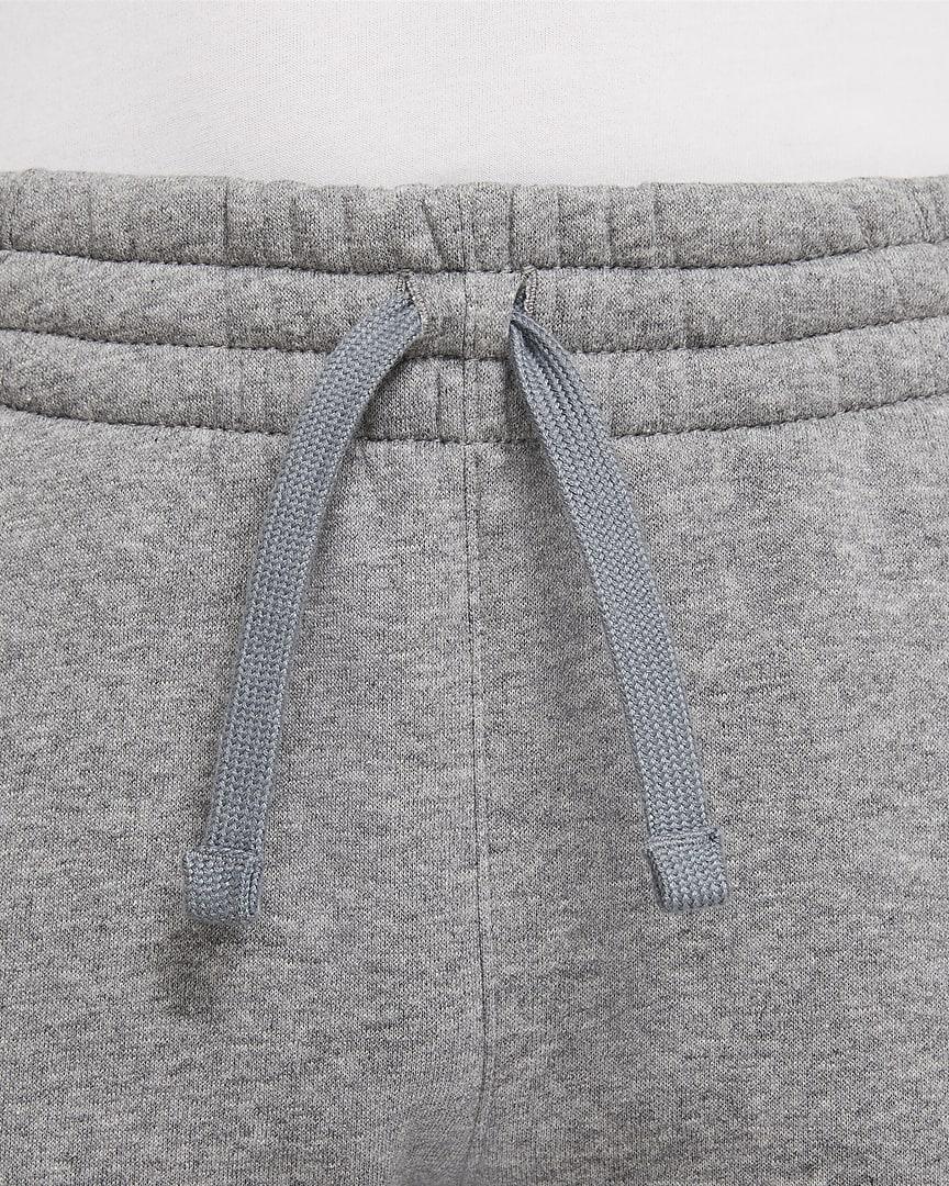 Nike Sportswear Club Fleece Big Kids\' (Boys\') Joggers Carbon Heather/Cool Grey/White