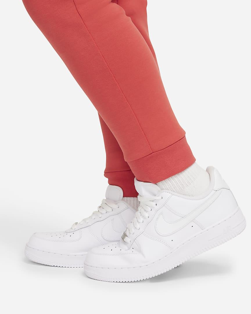 Nike Sportswear Tech Fleece Big Kids\' (Boys\') Pants (Extended Size) Lobster