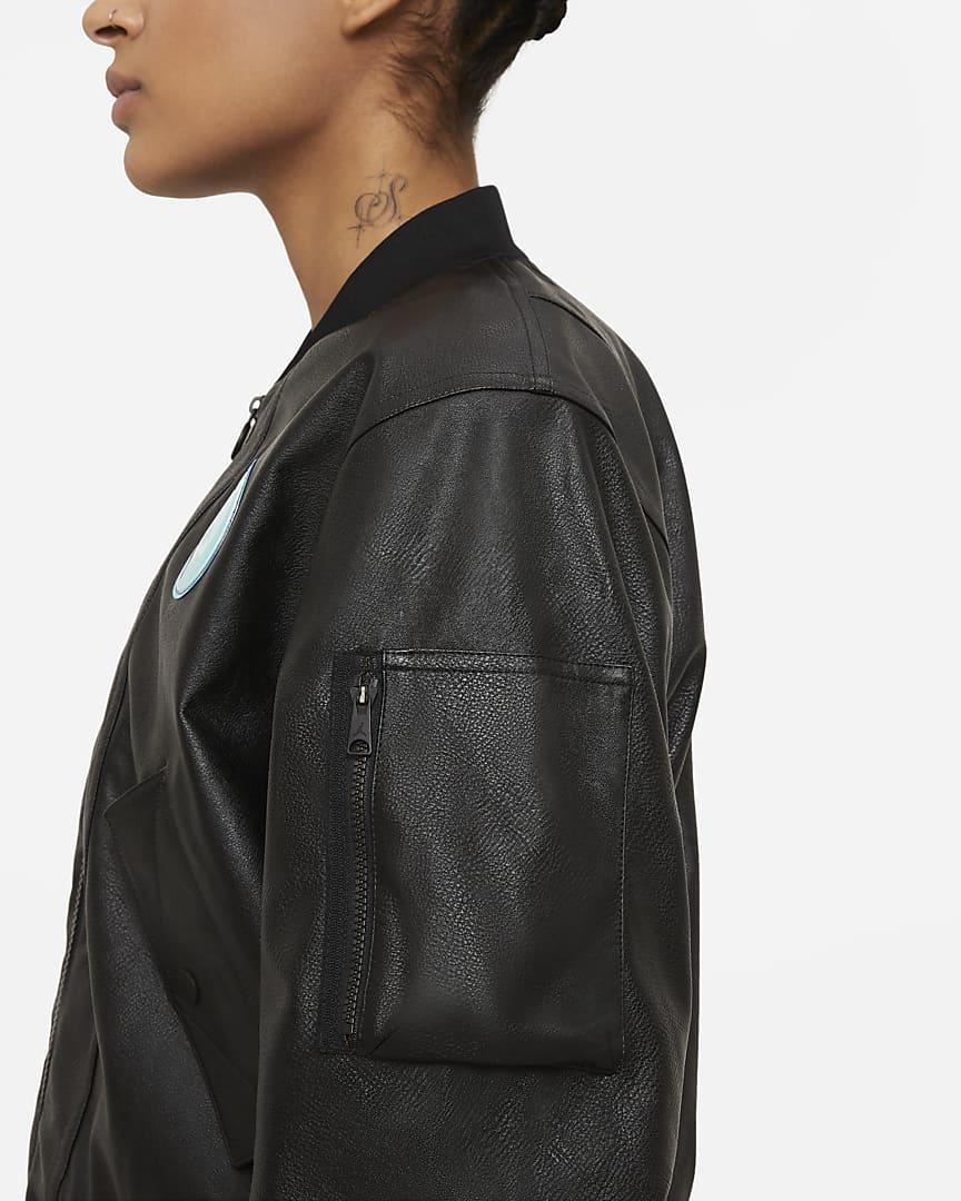 Paris Saint-Germain Women\'s Bomber Jacket Black