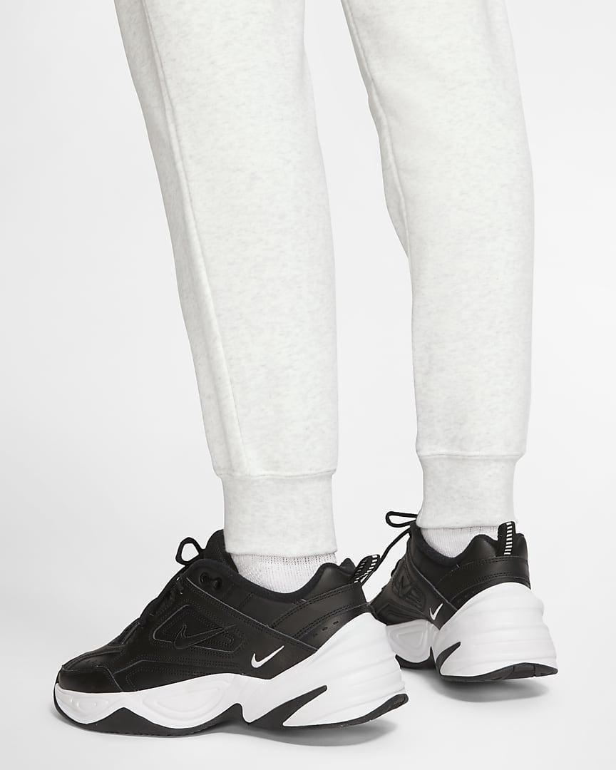 Nike Sportswear Essential Women\'s Fleece Pants Birch Heather/White/Black