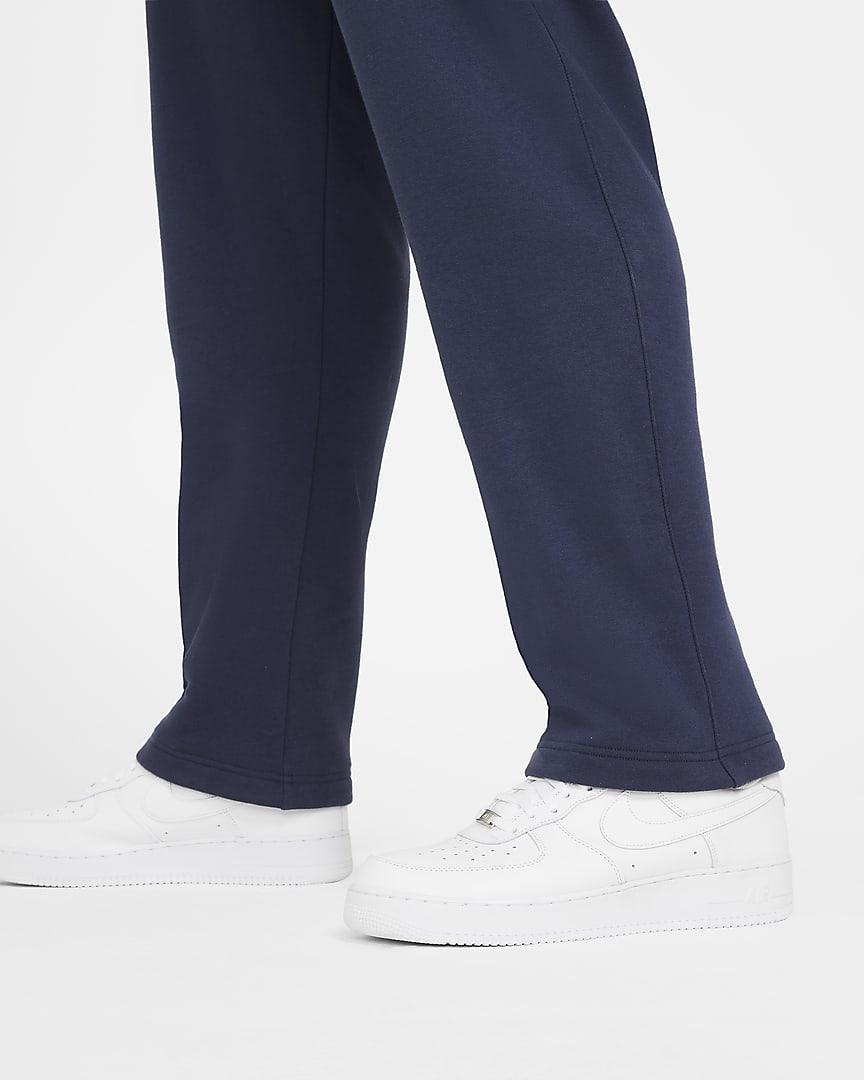Nike Sportswear Club Fleece Men\'s Pants Midnight Navy/Midnight Navy/White