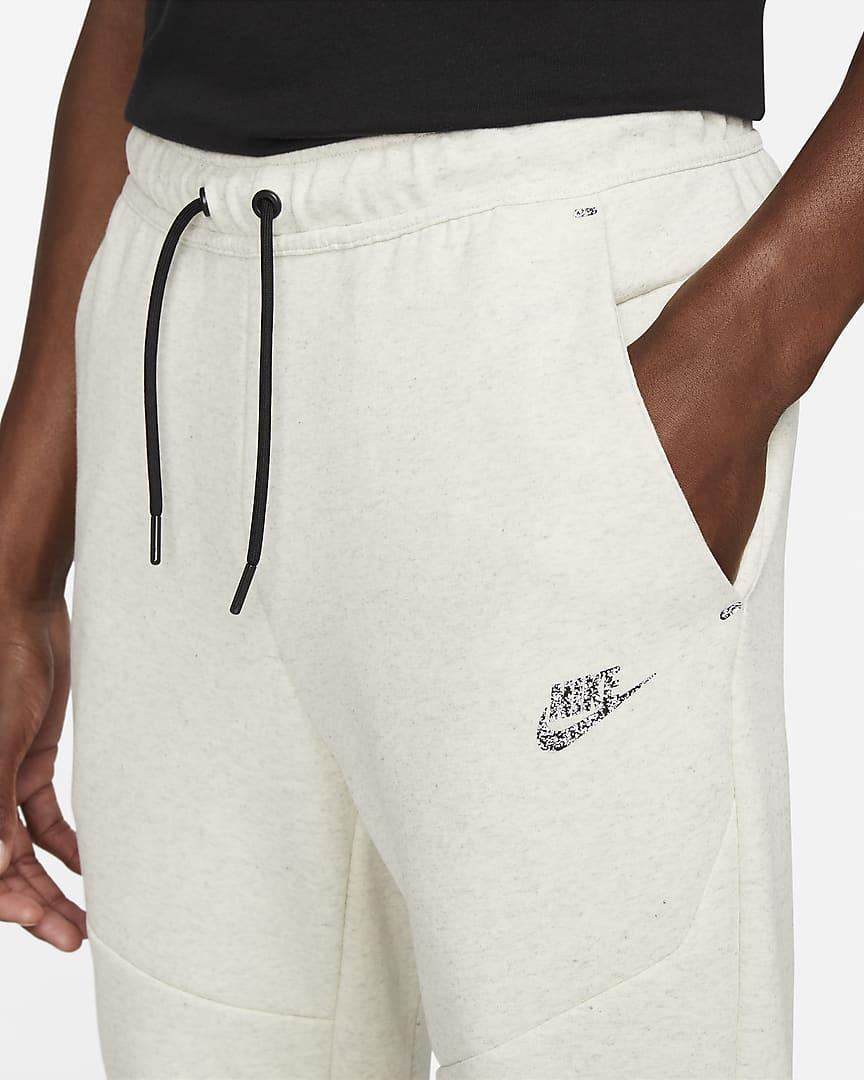 Nike Sportswear Tech Fleece Men\'s Joggers White/Heather