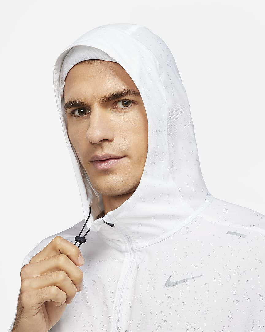Nike Windrunner Men\'s Running Jacket White