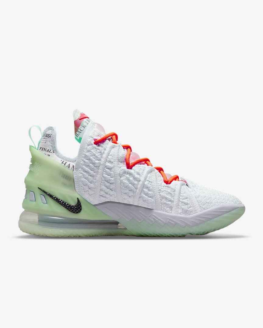 LeBron 18 Basketball Shoes Blue Tint