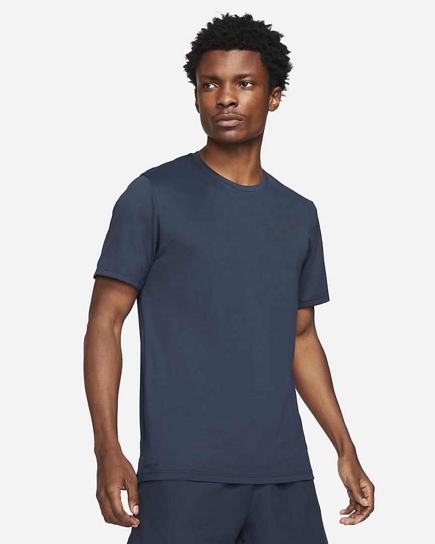 Nike Pro Dri-FIT Men\'s Short-Sleeve Top Obsidian/Black