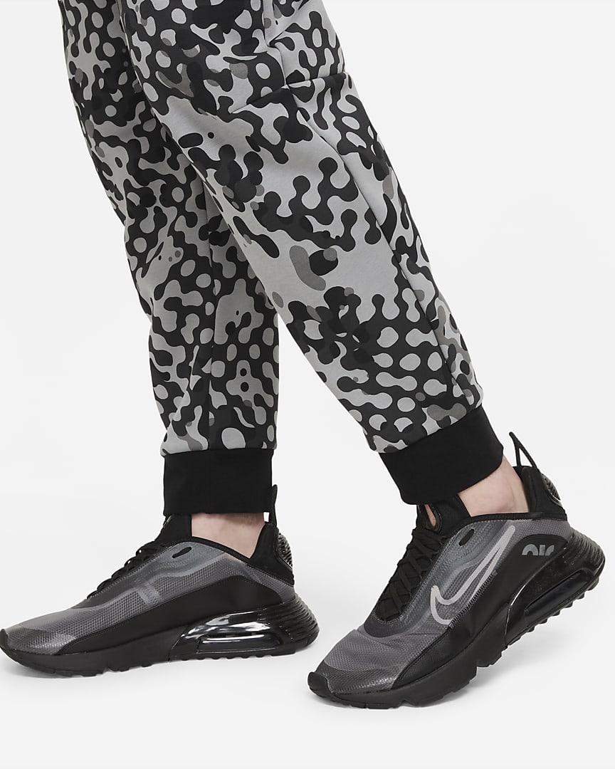 Nike Sportswear Tech Fleece Men\'s Joggers Dark Smoke Grey/Black/Black