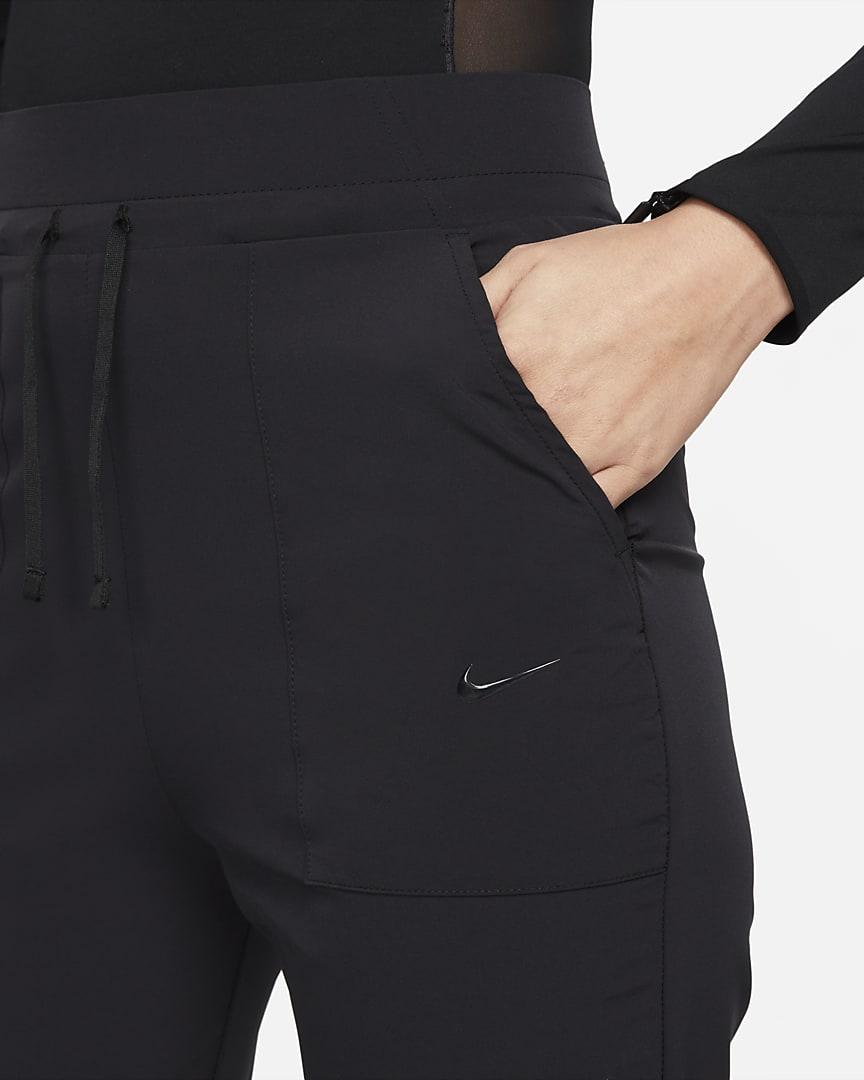 Nike Bliss Luxe Women\'s 7/8 Training Pants Black/Clear