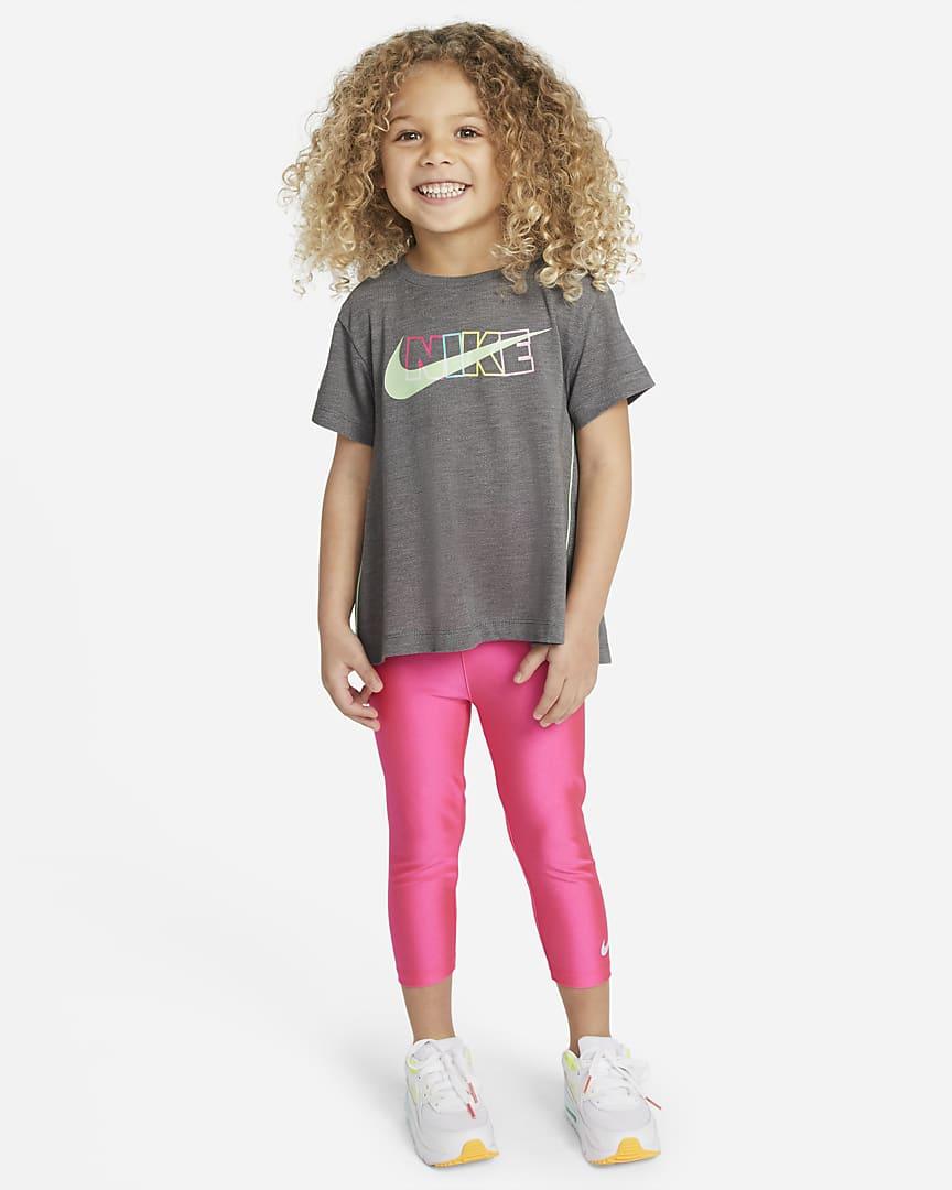 Nike Dri-FIT Toddler Top Carbon Heather