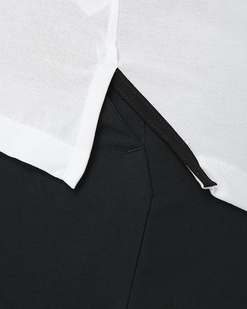 Nike Pro Men\'s Short-Sleeve Top White/Heather/Black