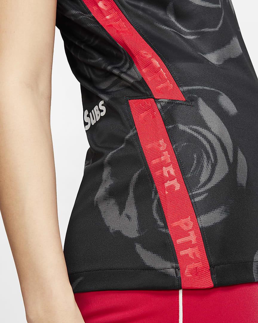Portland Thorns FC 2020 Stadium Home Women\'s Soccer Jersey Black/Challenge Red