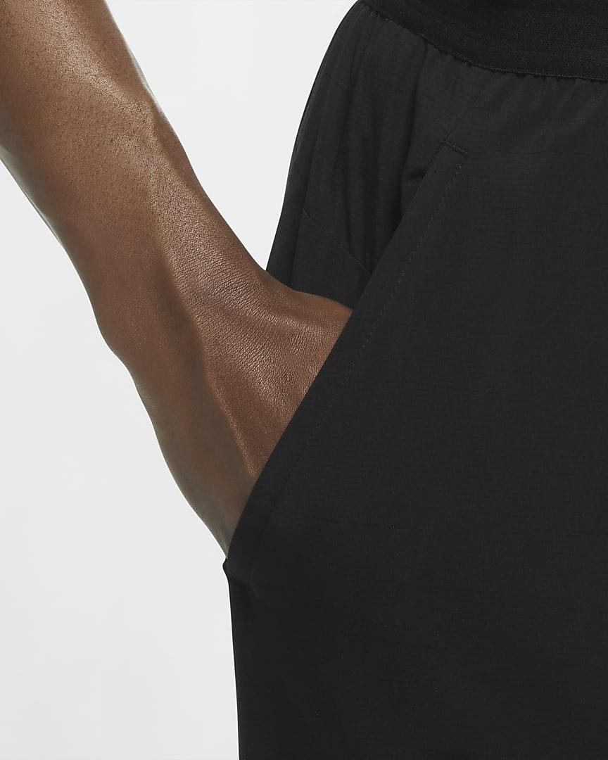 Nike Yoga Men\'s Pants Black/Iron Grey