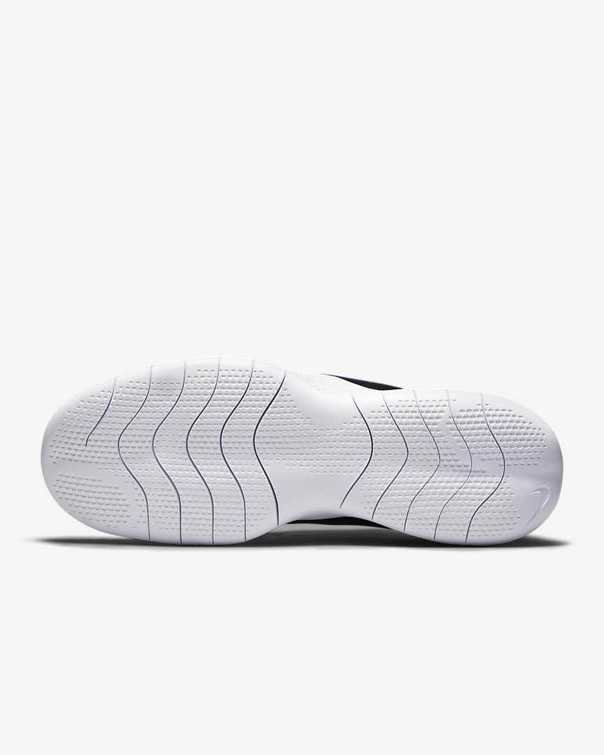 Nike Flex Experience Run 10 Men\'s Road Running Shoes Black/Midnight Navy/White/Hyper Royal