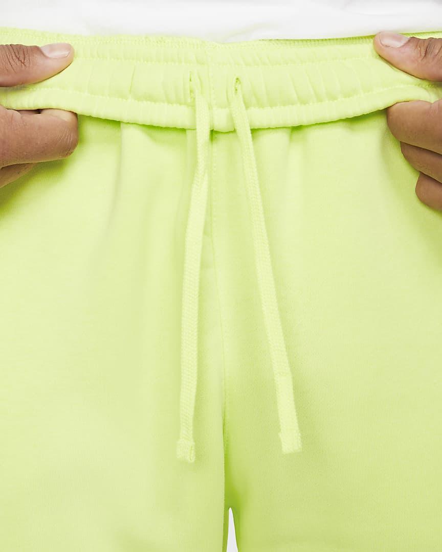 Nike Sportswear Club Fleece Men\'s Pants Light Lemon Twist/Light Lemon Twist/White