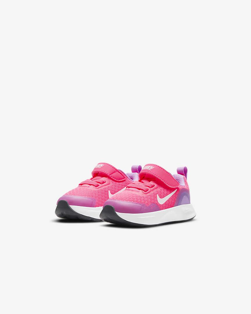 Nike WearAllDay Baby/Toddler Shoes Hyper Pink/Fuchsia Glow/Dark Smoke Grey/White