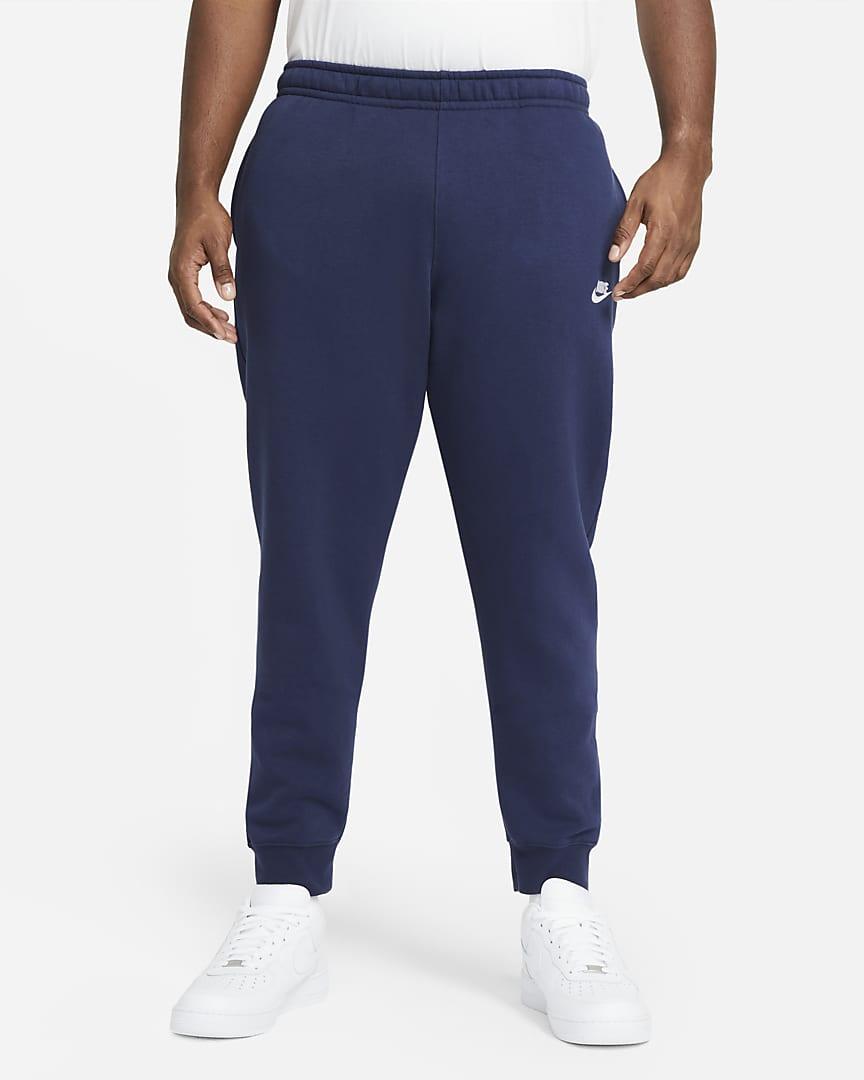 Nike Sportswear Club Fleece Joggers Midnight Navy/Midnight Navy/White