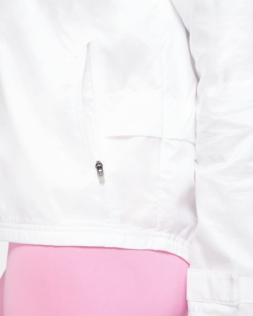 Nike Essential Women\'s Running Jacket White