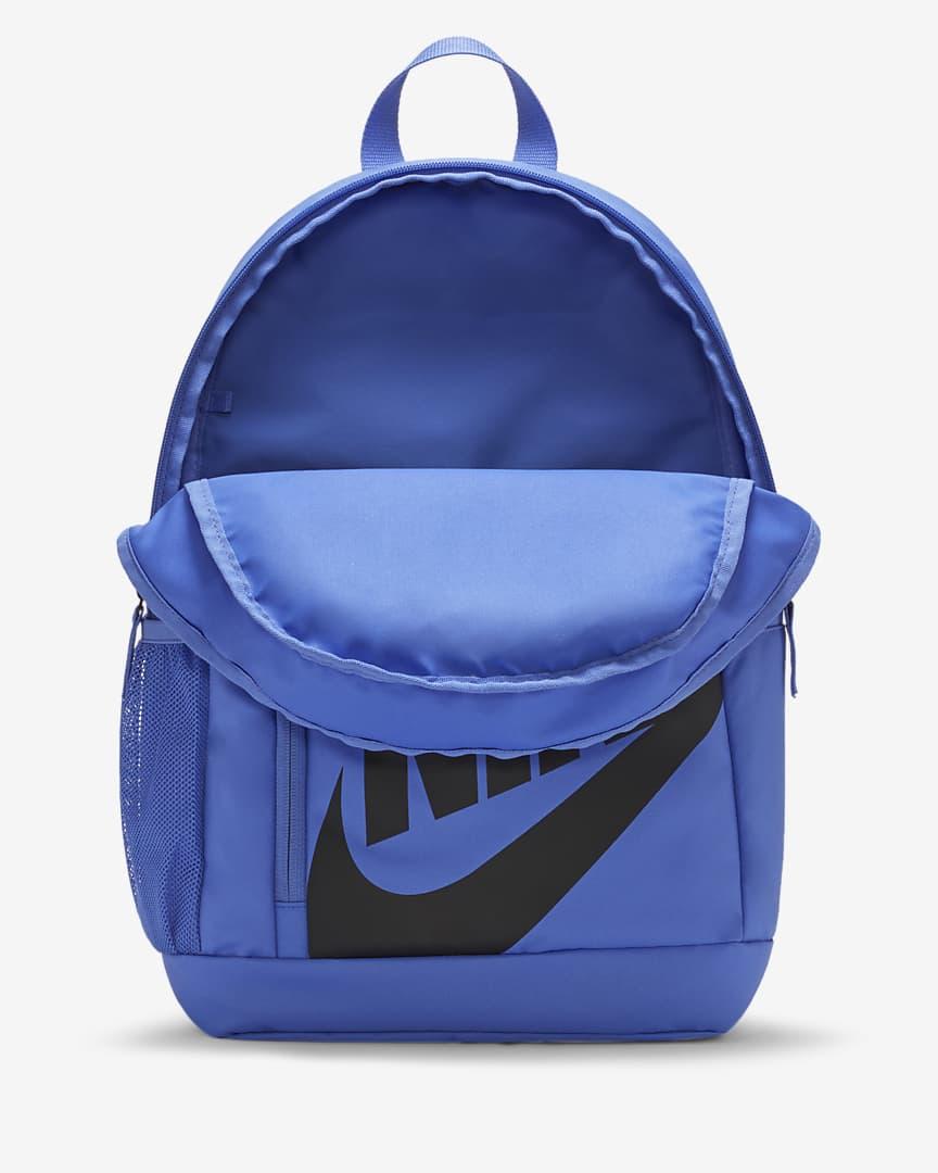 Nike Elemental Kids\' Backpack Sapphire/Sapphire/Black