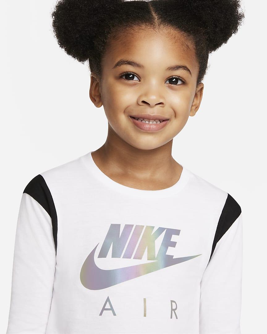 Nike Air Toddler T-Shirt and Leggings Set Black