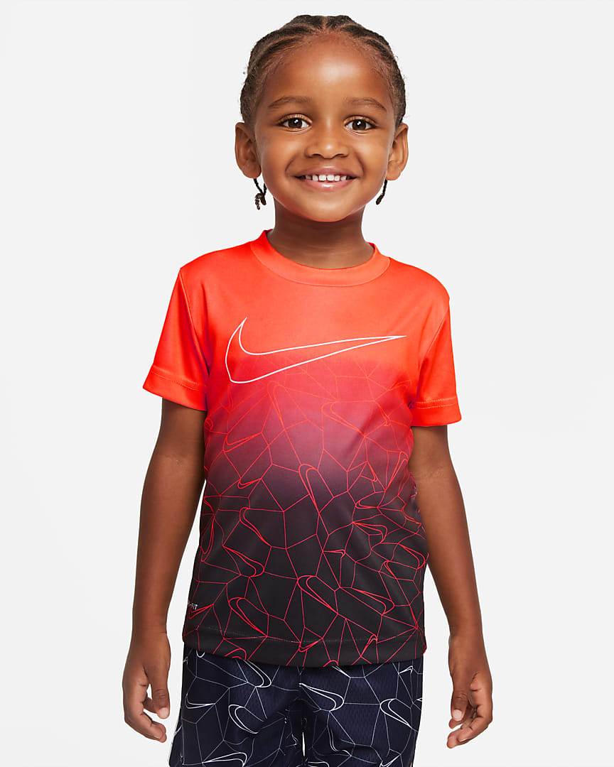 Nike Dri-FIT Toddler T-Shirt Bright Crimson
