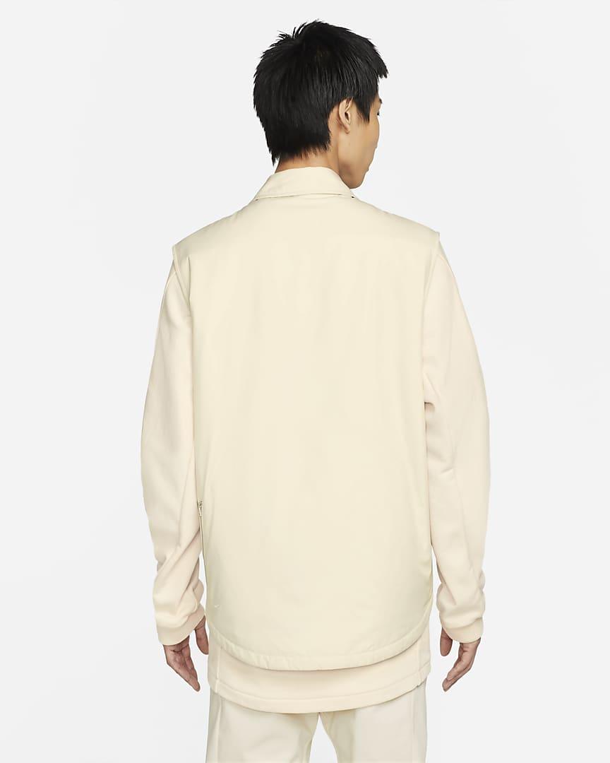 Nike ESC Men\'s Collared Vest Wheat