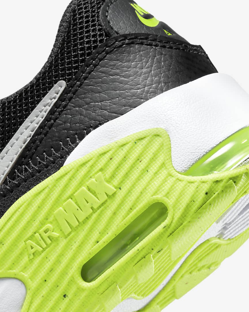Nike Air Max Excee Little Kids' Shoes Dark Smoke Grey/Black/Volt/Wolf Grey