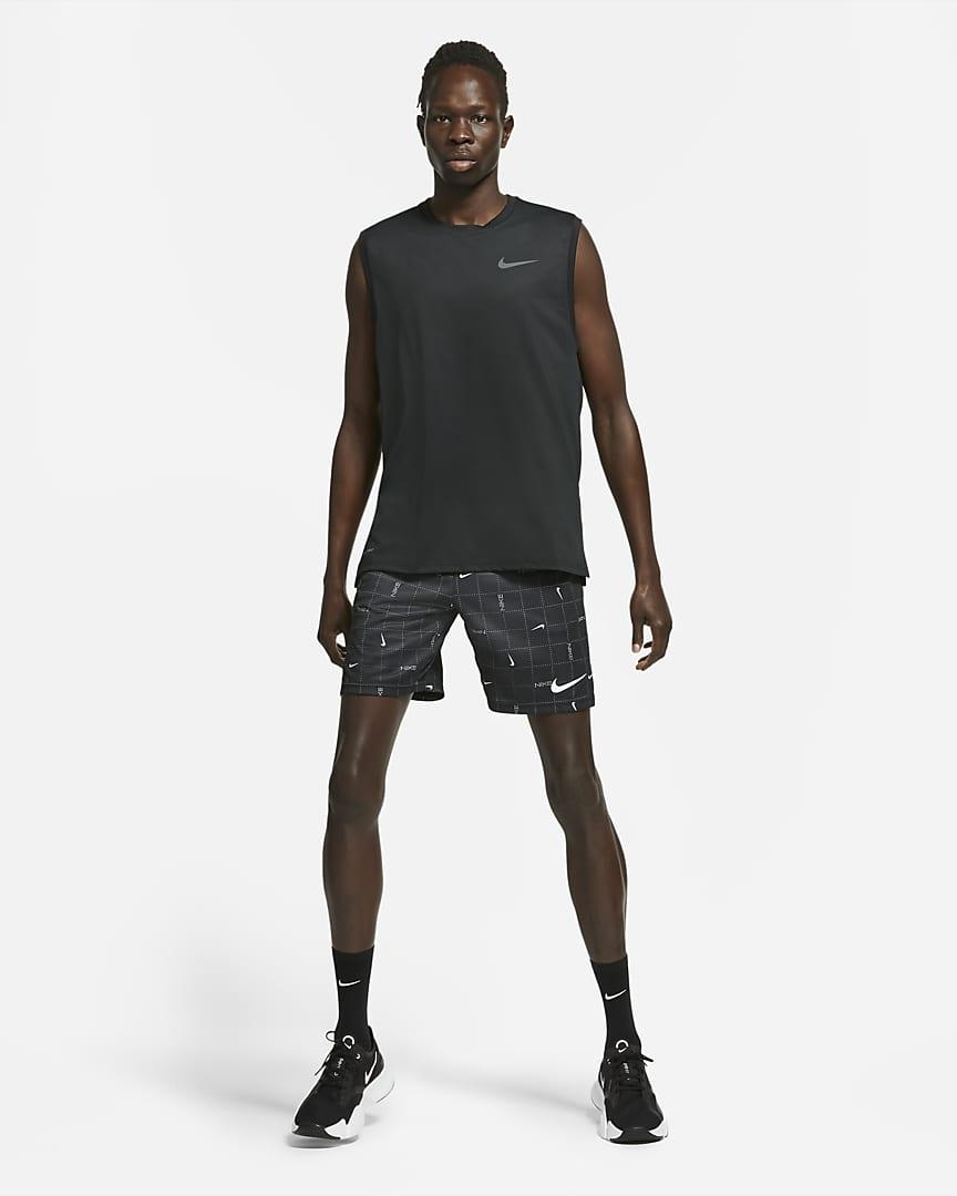 Nike Pro Dri-FIT Men\'s Tank Black/Dark Grey
