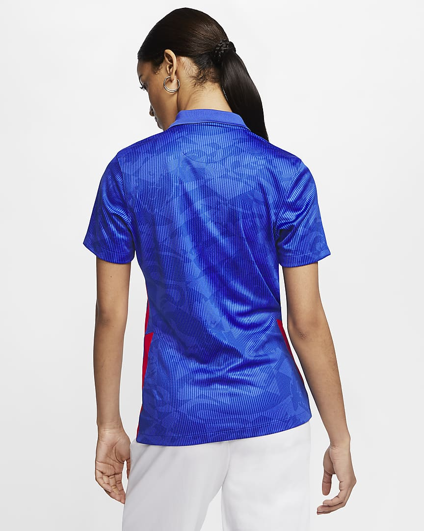 England 2020 Stadium Away Women\'s Soccer Jersey Mega Blue/Sport Royal/Mega Blue