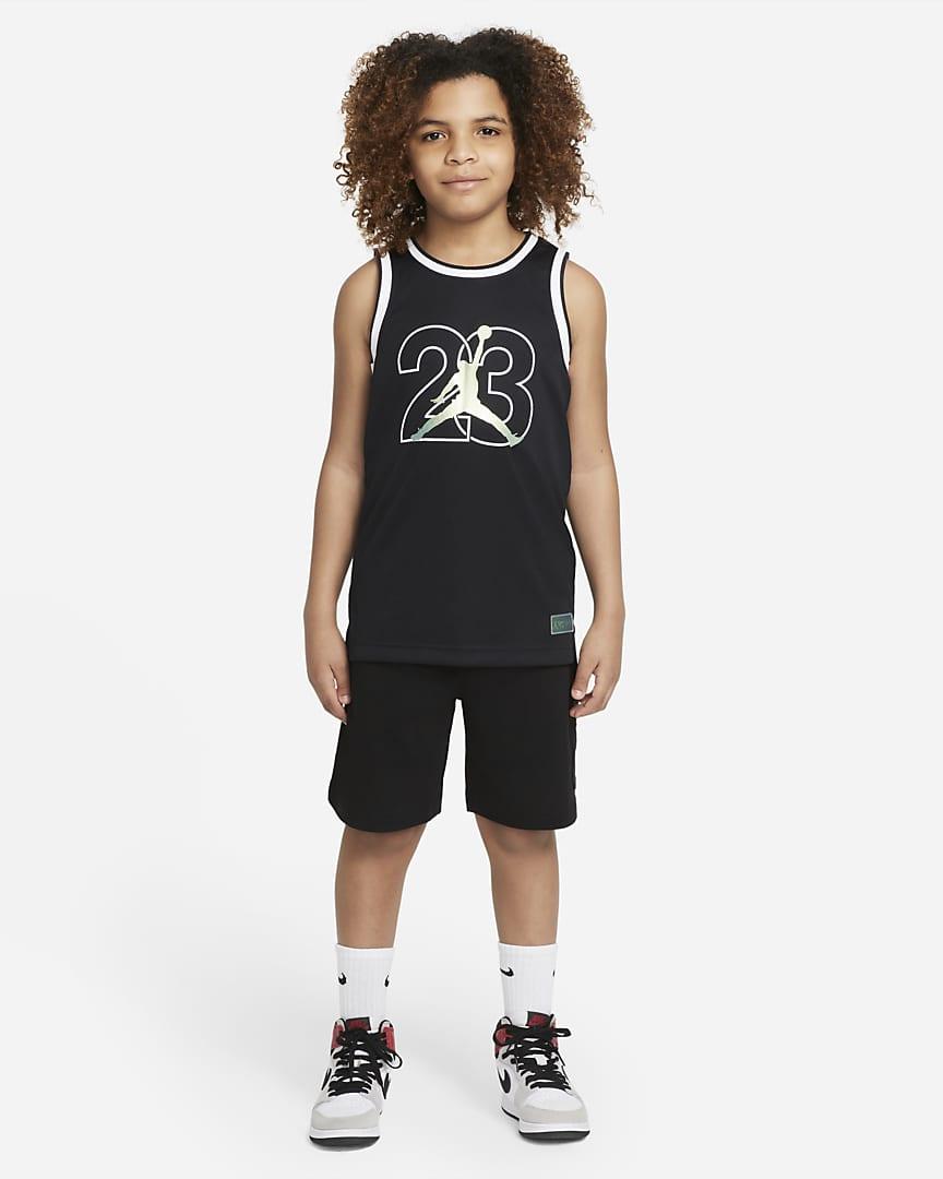 Jordan Big Kids\' (Boys\') Tank Black