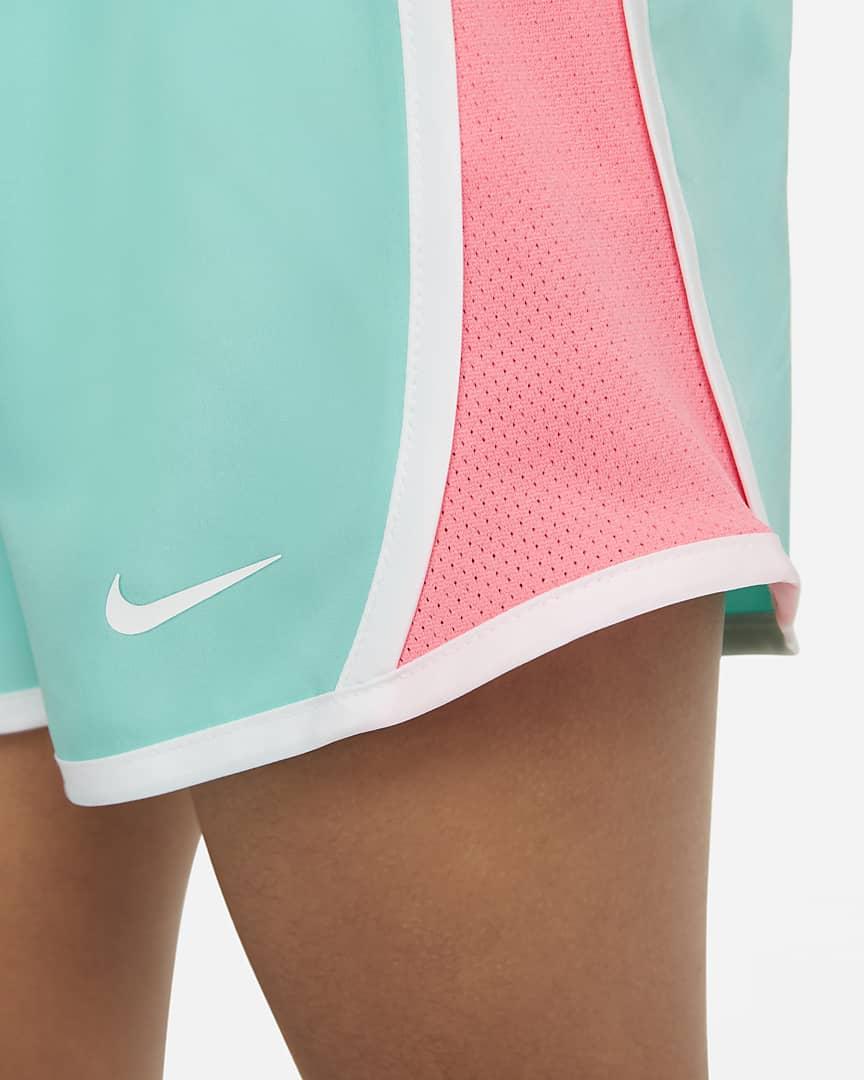 Nike Dri-FIT Tempo Little Kids\' Shorts Tropical Twist