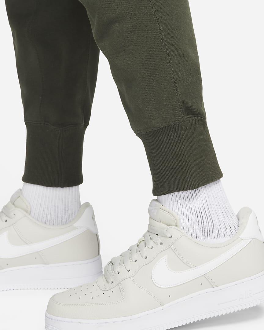 Nike Sportswear Men\'s Classic Fleece Pants Sequoia/Carbon Green