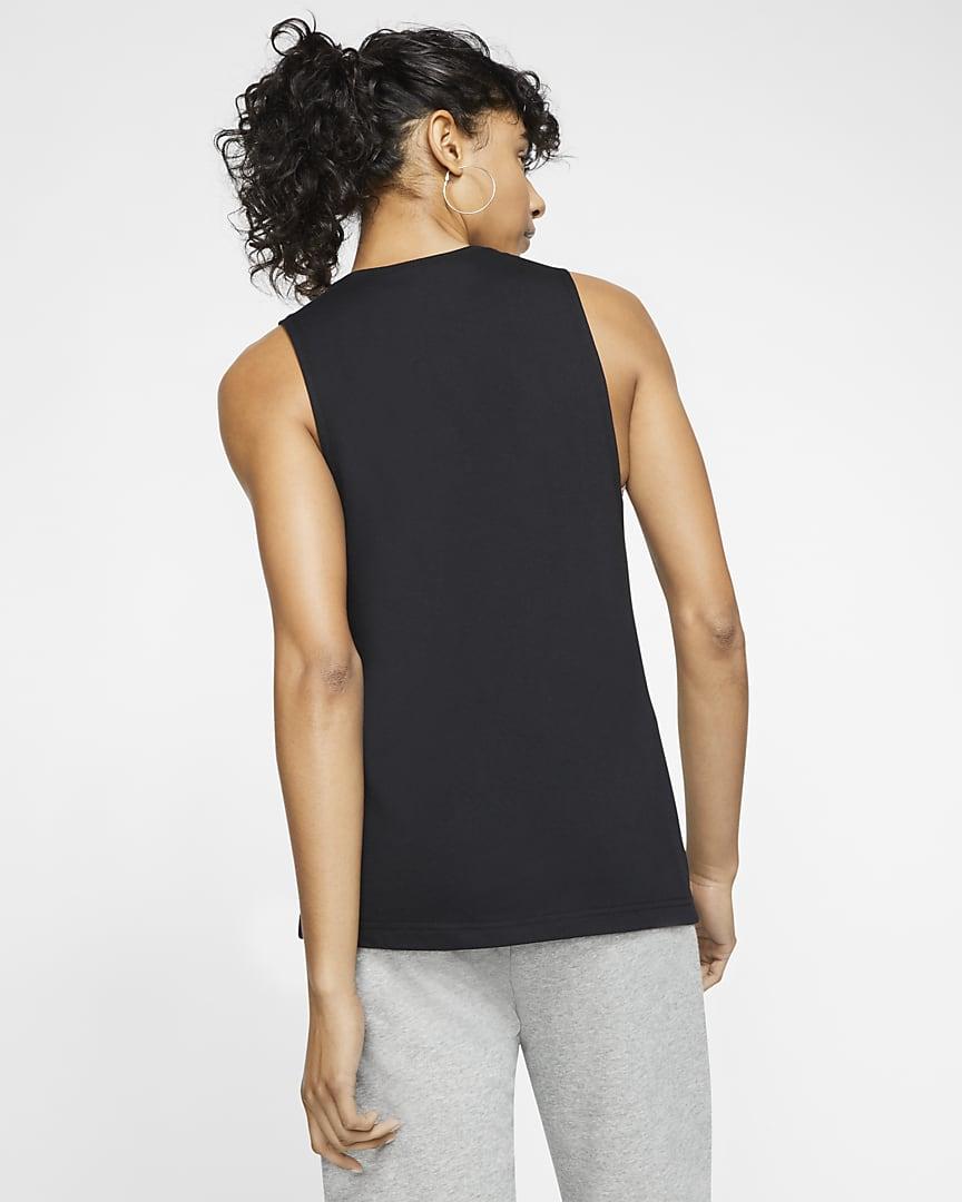 Nike Sportswear Women\'s Muscle Tank Black/White
