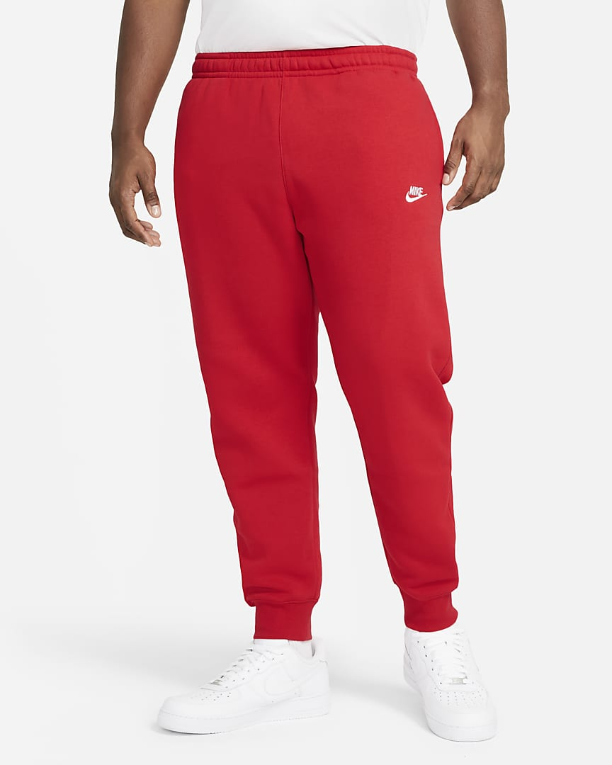 Nike Sportswear Club Fleece Joggers University Red/University Red/White