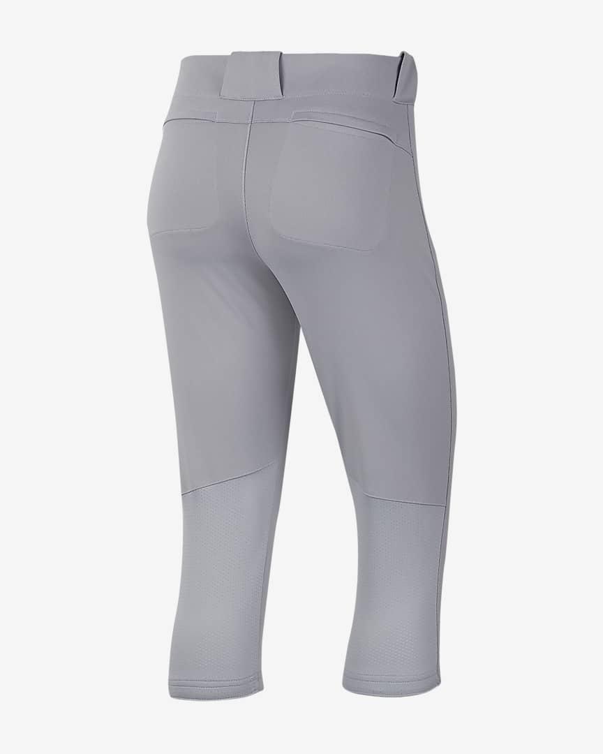 Nike Vapor Select Women\'s 3/4-Length Softball Pants Team Blue Grey/Team Black