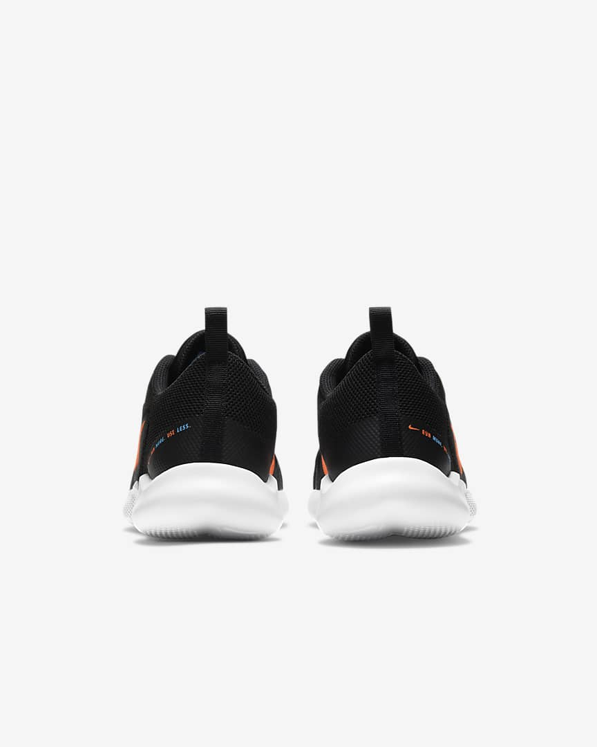 Nike Flex Experience Run 10 Men\'s Road Running Shoes Black/Coast/White/Total Orange