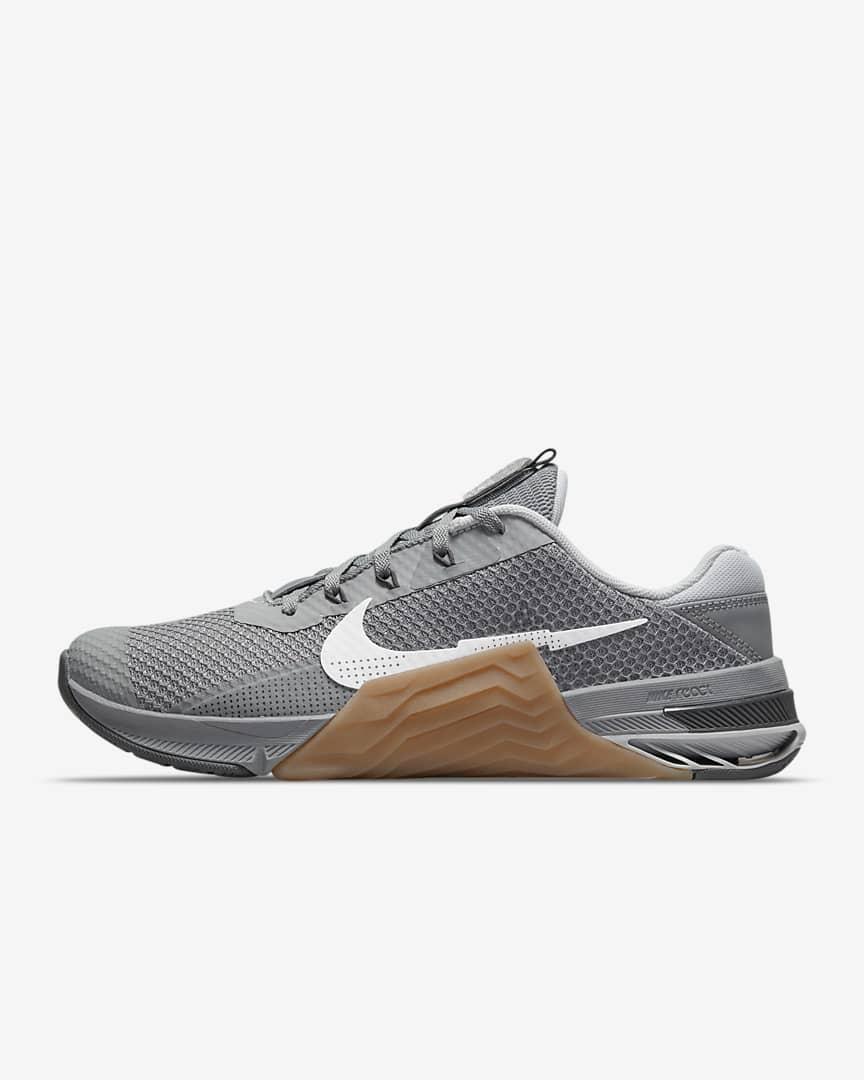 Nike Metcon 7 Training Shoes Particle Grey/Gum Medium Brown/Dark Smoke Grey/White