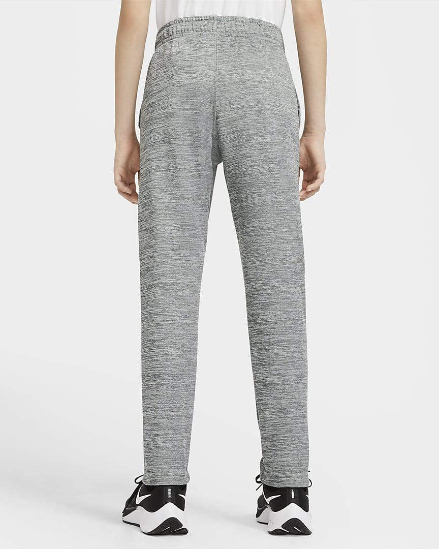 Nike Therma Big Kids\' (Boys\') Training Pants Smoke Grey/Heather/Black