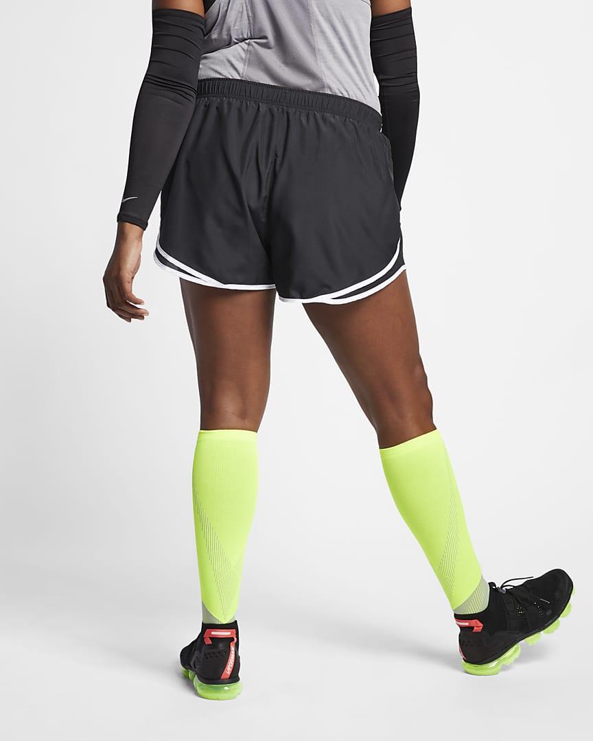 Nike Tempo Women\'s Running Shorts (Plus Size) Black/Black/White/Wolf Grey