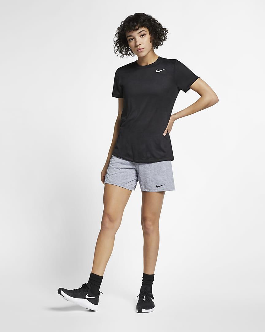 Nike Dri-FIT Legend Women\'s Training T-Shirt Black/White