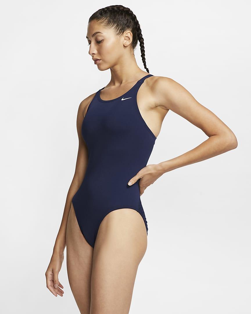 Nike Fastback Women\'s 1-Piece Swimsuit Midnight Navy