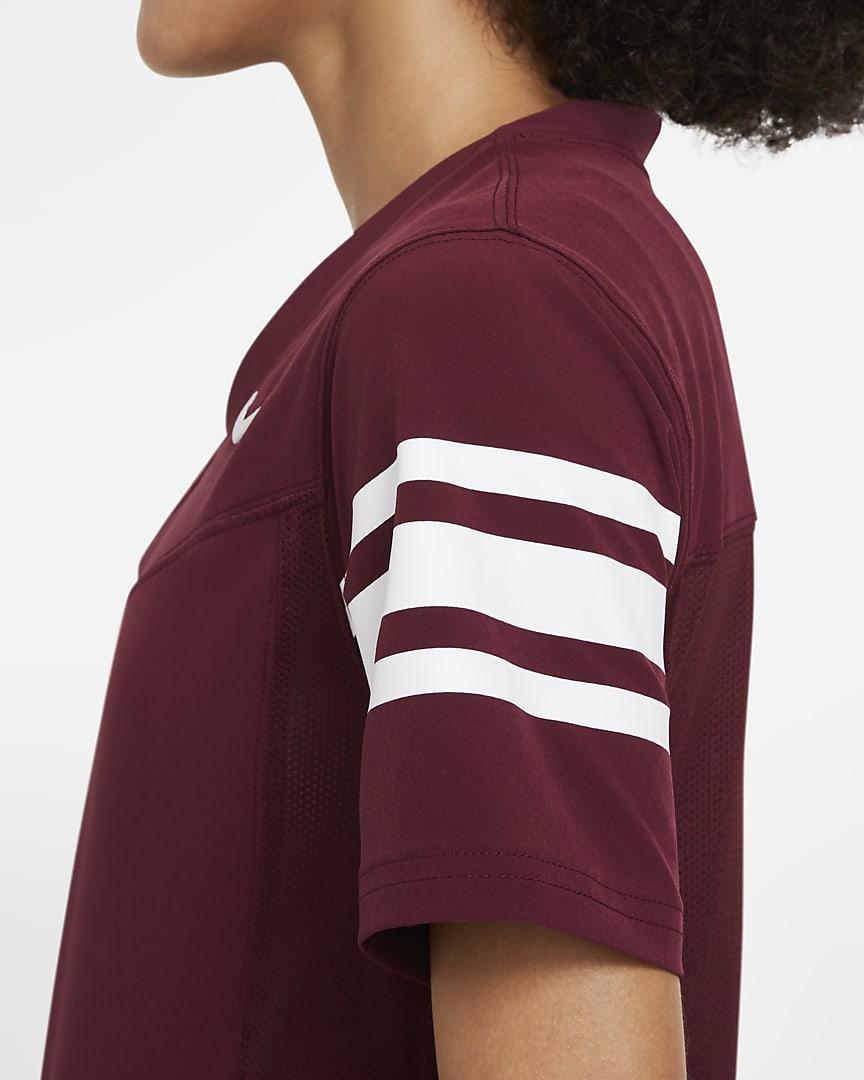 Nike Vapor Women\'s Flag Football Jersey (Stock) Team Dark Maroon/Team White/Team White