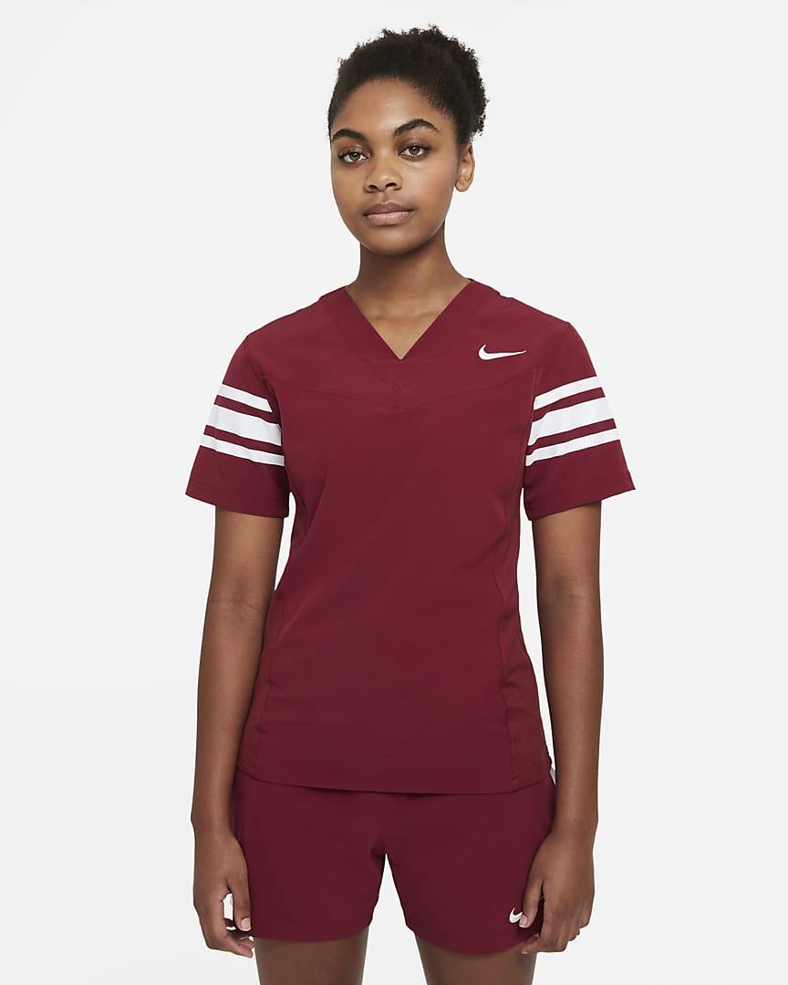 Nike Vapor Women\'s Flag Football Jersey (Stock) Team Cardinal/Team White/Team White