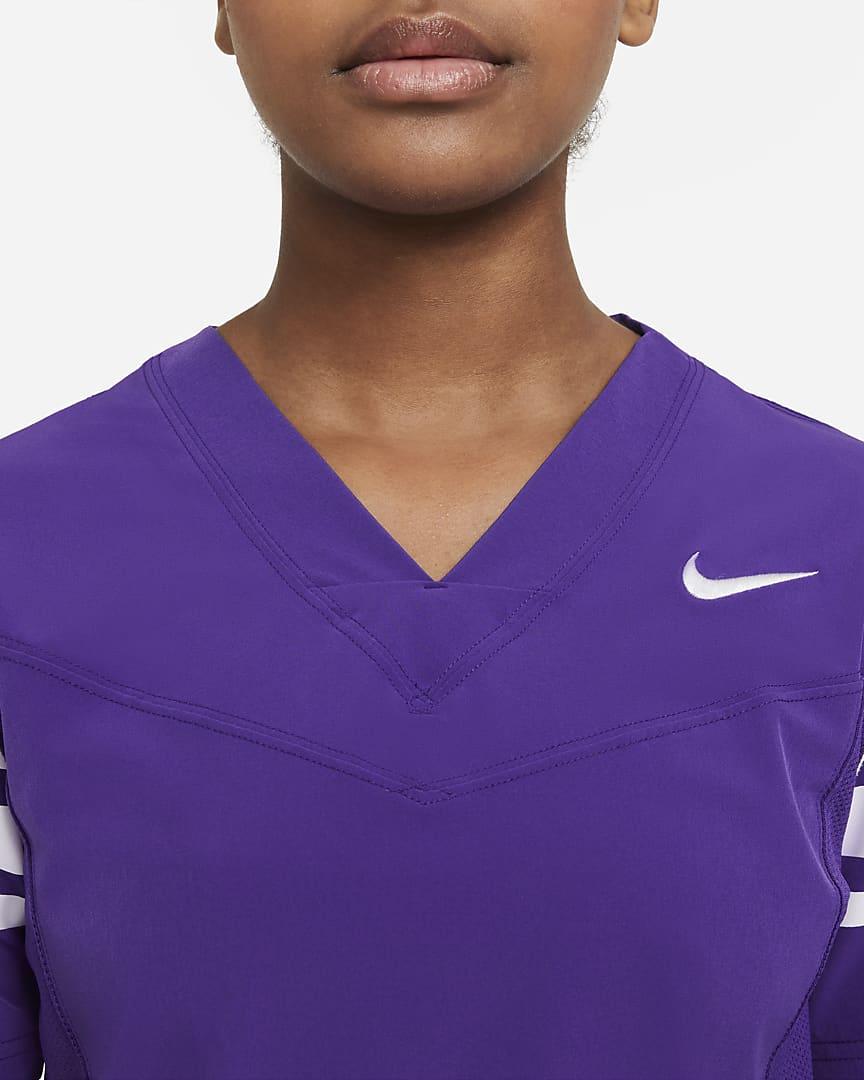 Nike Vapor Women\'s Flag Football Jersey (Stock) Team Purple/Team White/Team White