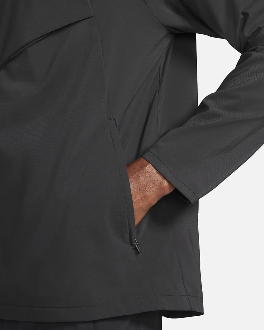 Nike Windrunner Men\'s Running Jacket Black