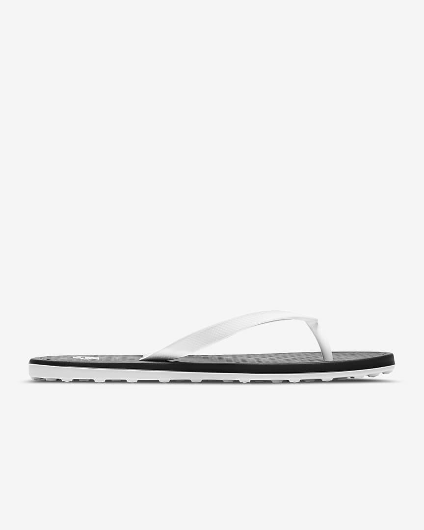 Nike On Deck Women\'s Flip Flop Black/White/Black