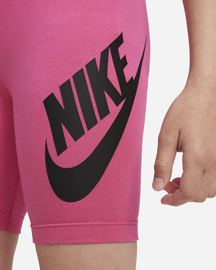 Nike Little Kids\' Bike Shorts Hyper Pink