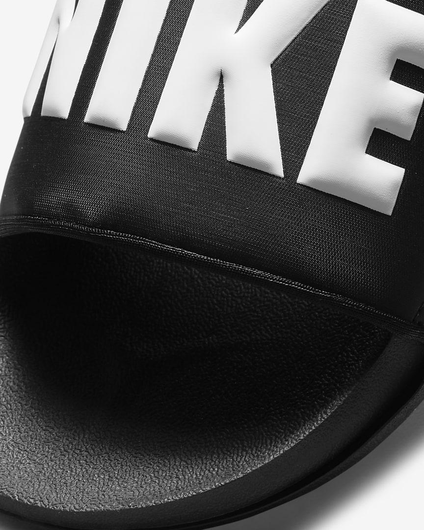 Nike Offcourt Men\'s Slides Black/Black/White
