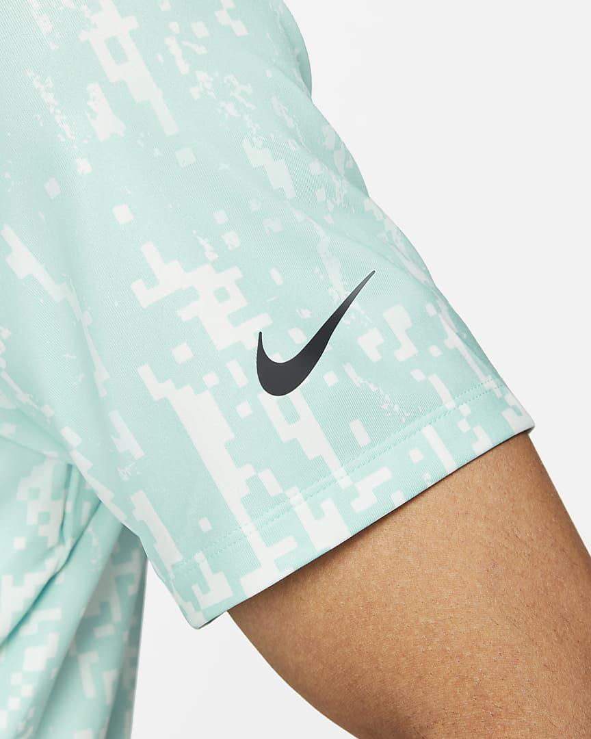 Nike Dri-FIT Vapor Men\'s Graphic Golf Polo Tropical Twist/Black